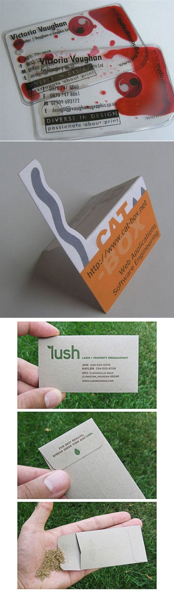 100 Creative Business Cards | Richworks