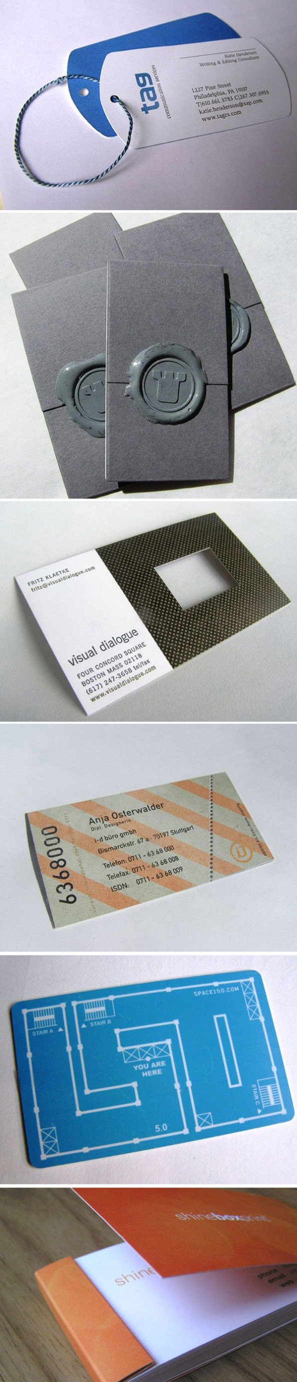 100 Creative Business Cards Richworks