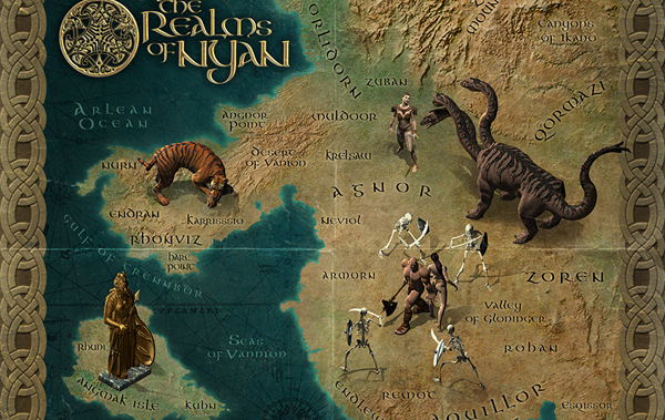 Create a Fantasy Map Illustration – Psd Plus Tutorial